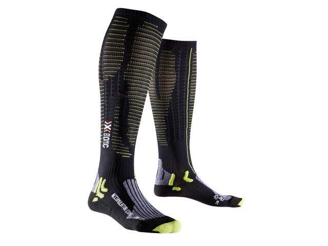 X-Bionic Effektor xbs.competition Long Socks Men black/acid green